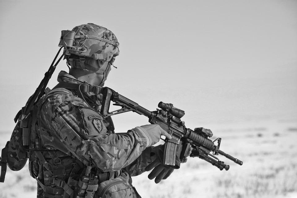 guns and rifles